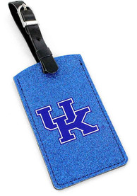 Kentucky Wildcats Sparkle Luggage Tag - Blue