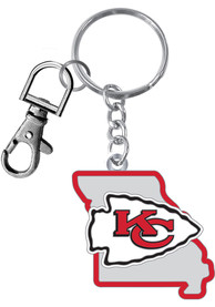 Kansas City Chiefs Home State Keychain