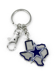 Dallas Cowboys Home State Keychain