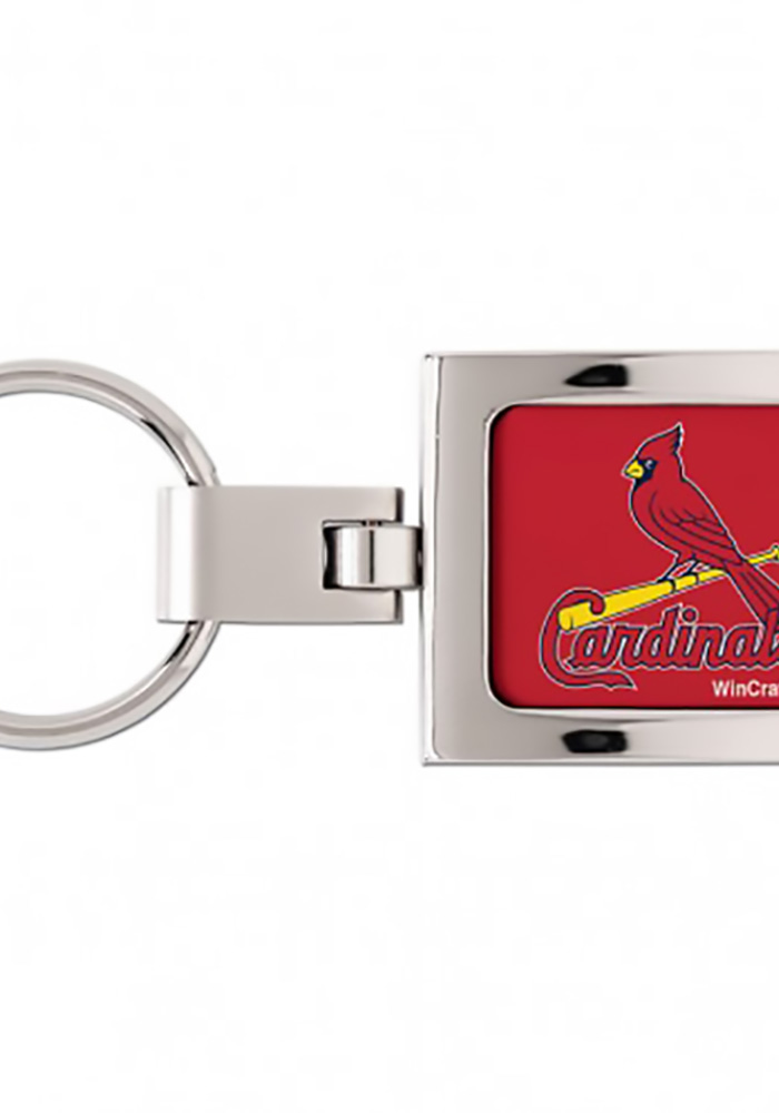 St Louis Cardinals Domed Keychain - Image 1