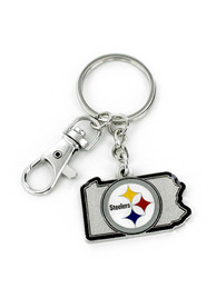 Pittsburgh Steelers Home State Keychain