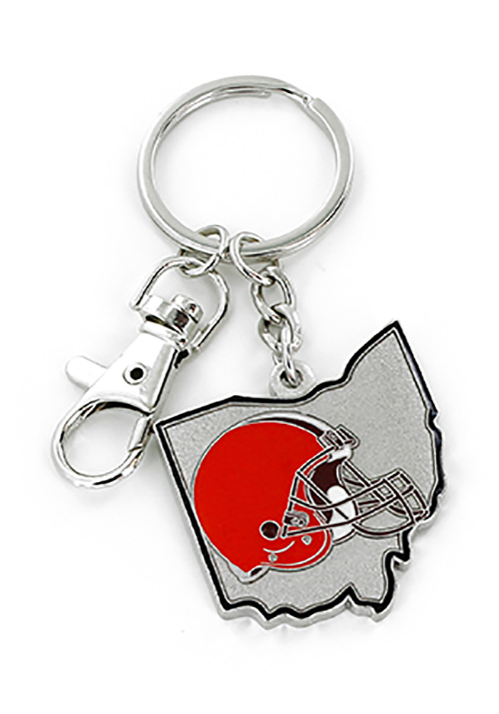 Cleveland Browns Home State Keychain - Image 1