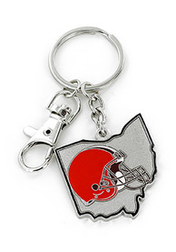Cleveland Browns Home State Keychain