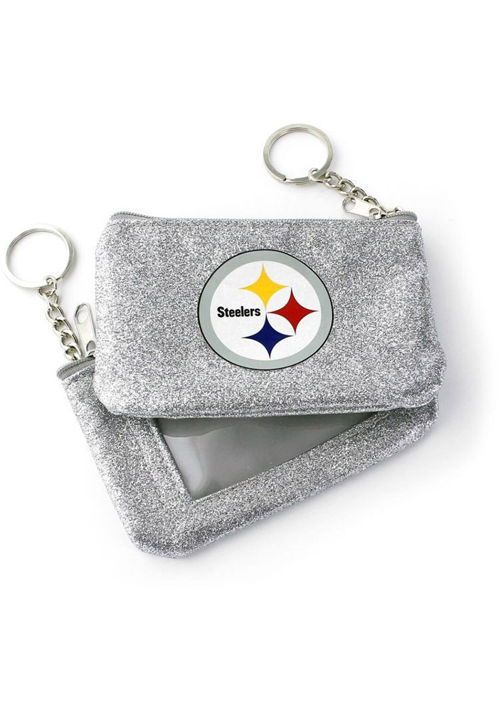 Pittsburgh Steelers Sparkle Womens Coin Purse - Image 1