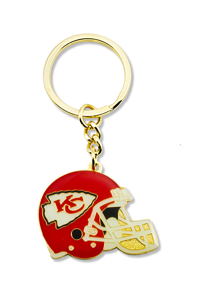 Kansas City Chiefs Helmet Keychain - Image 1