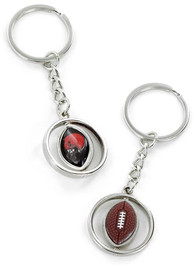 Cleveland Browns Rotating Football Keychain