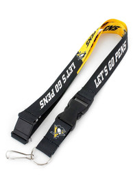 Pittsburgh Penguins Slogan Lanyard