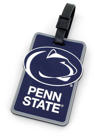 Penn State Nittany Lions Rubber Luggage Tag - Navy Blue