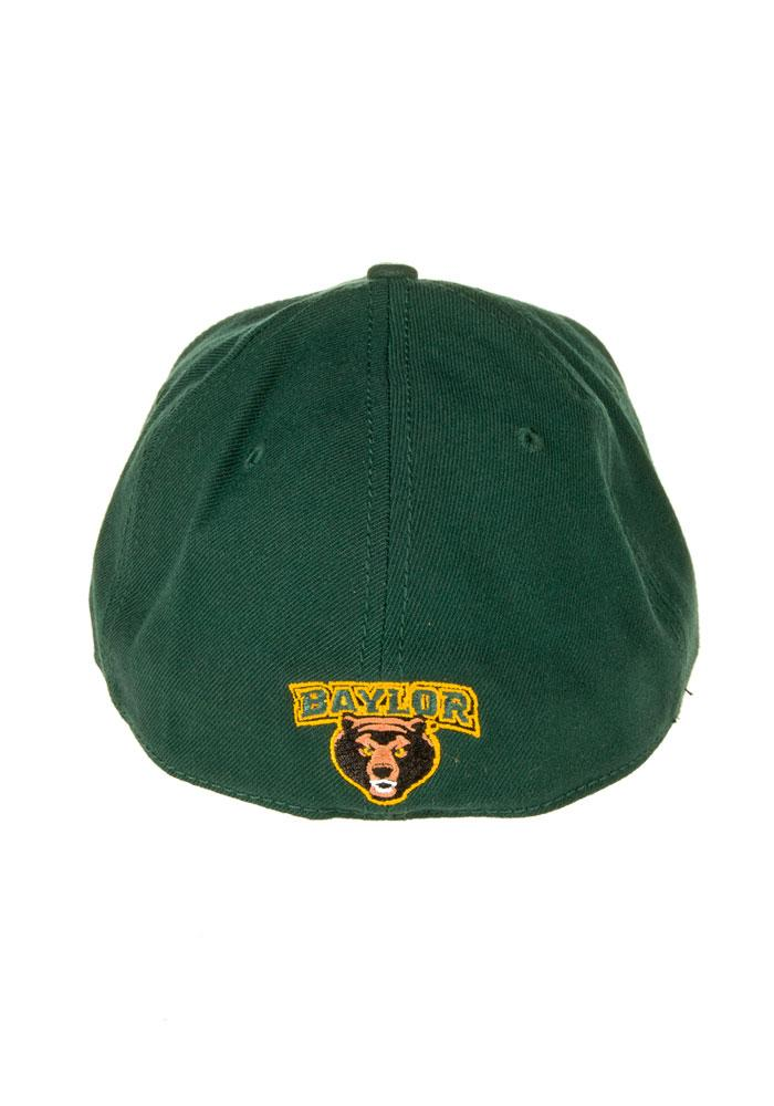 New Era Baylor Bears Mens Green Classic 3930 Flex Hat - Image 2