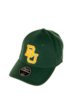 Top of the World Baylor Bears Mens Green Premium Flex Hat