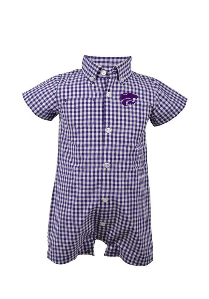 K-State Wildcats Baby Purple Infant Brooks Creeper 91970199