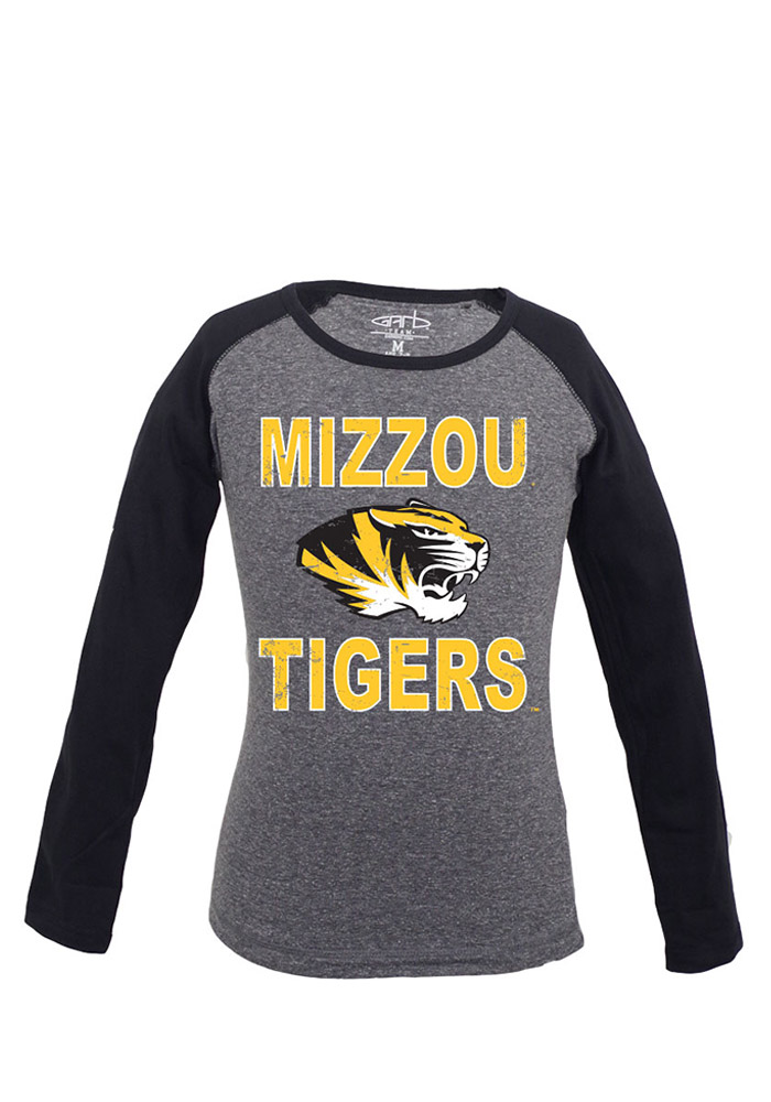 Missouri Tigers Toddler Girls Black Toddler Girls Danica Long Sleeve T Shirt - Image 1