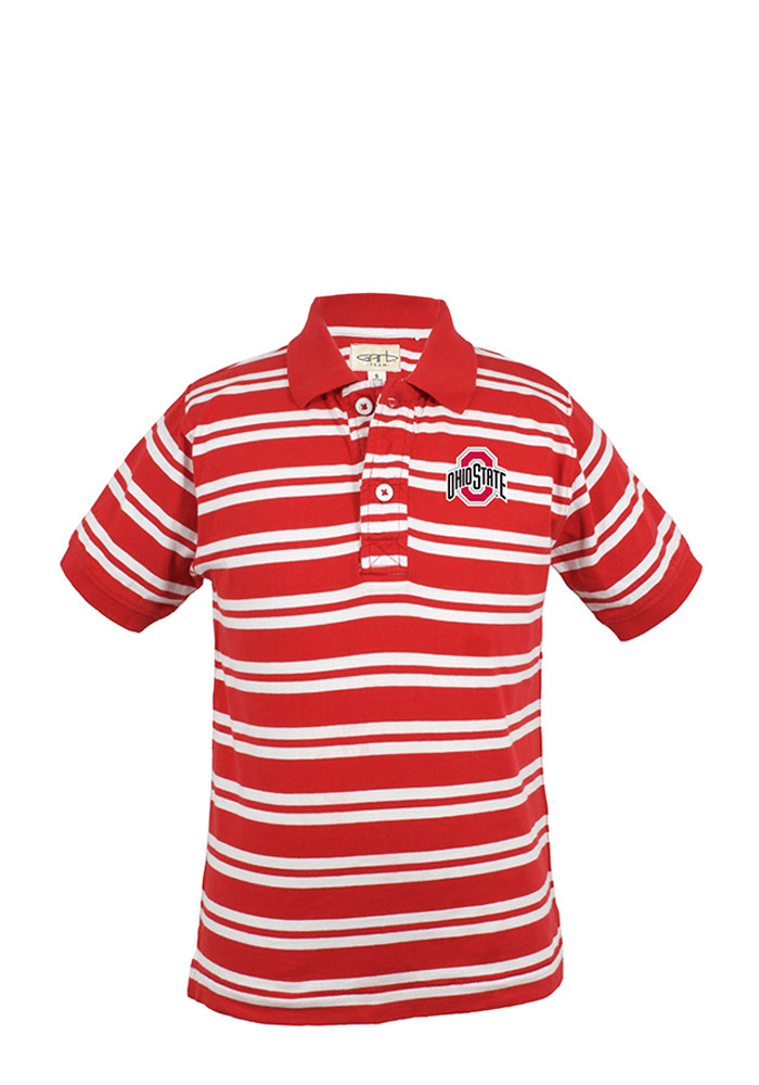 Ohio State Buckeyes Toddler Red Oliver Short Sleeve T-Shirt - Image 1