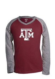 Texas A&M Kids Maroon Courtney T-Shirt