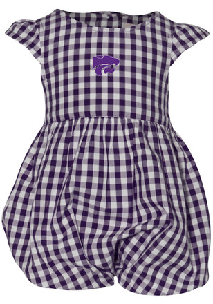 K-State Wildcats Baby Girls Purple Gigi Dress