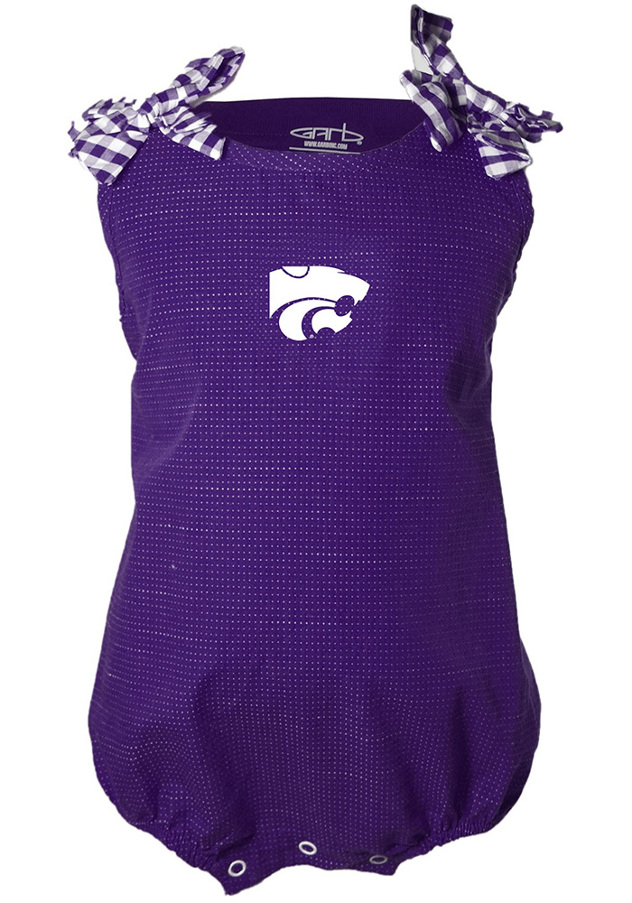 K-State Wildcats Baby Mabel One Piece - Purple