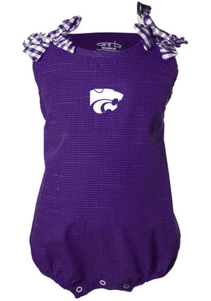 K-State Wildcats Baby Girls Purple Mabel Dress