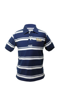 Pitt Panthers Youth Navy Blue Parker Polo