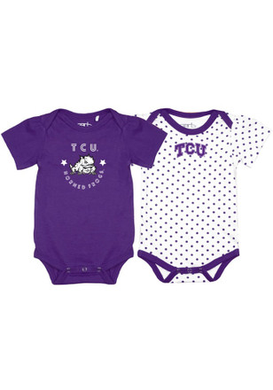 TCU Horned Frogs Baby Purple Tammy Creeper