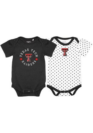 Texas Tech Red Raiders Baby Black Tammy Creeper