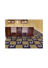 Milwaukee Brewers 18x18 Team Tiles Interior Rug