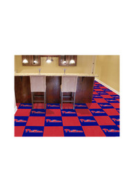 Philadelphia Phillies 18x18 Team Tiles Interior Rug