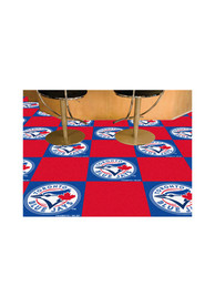 Toronto Blue Jays 18x18 Team Tiles Interior Rug