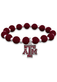 Texas A&M Aggies Womens Zoey Silicone Bracelet - Maroon