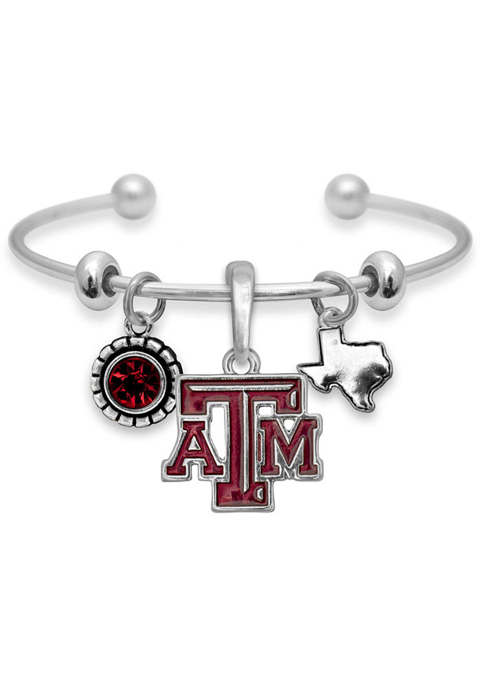 Texas A&M Aggies Womens Home Sweet School Bracelet - Red