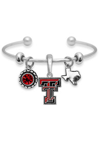 Texas Tech Red Raiders Womens Home Sweet School Bracelet - Red