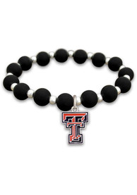 Texas Tech Red Raiders Womens Zoey Stretch Bracelet - Red