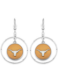 Texas Longhorns Womens Campus Chic Earrings - Burnt Orange