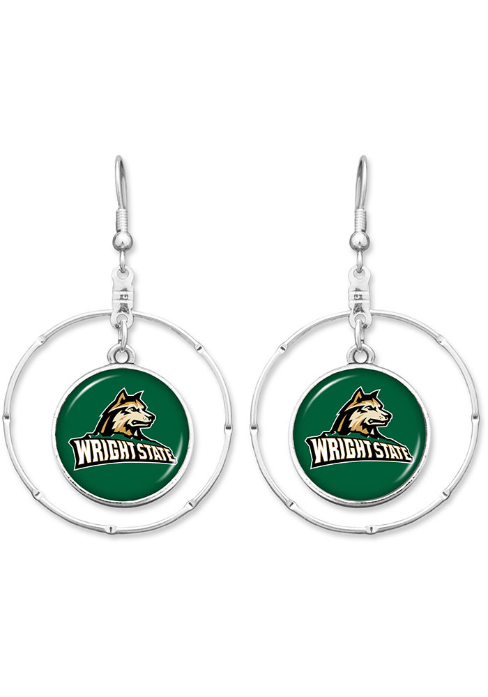Wright State Raiders Campus Chic Womens Earrings - Image 1