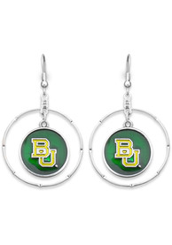 Baylor Bears Womens Campus Chic Earrings - Green