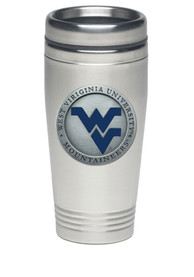 West Virginia Mountaineers 14oz Stainless Steel Travel Mug