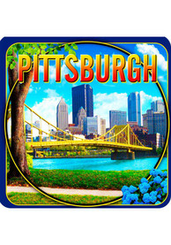 Pittsburgh Coaster Magnet