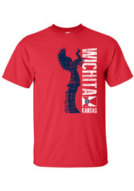 Wichita Red Keeper of the Plains Short Sleeve T Shirt