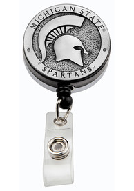 Michigan State Spartans Pewter Badge Holder
