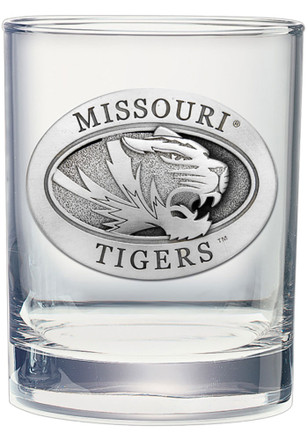 Missouri Tigers Old Fashioned Rock Glass