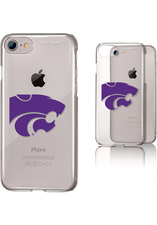 K-State Wildcats iPhone 6/7/8 Clear Slim Phone Cover