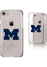 Michigan Wolverines iPhone 6/7/8 Clear Slim Phone Cover