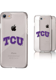 TCU Horned Frogs iPhone 6/7/8 Clear Slim Phone Cover