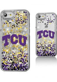 TCU Horned Frogs iPhone 6/7/8 Glitter Phone Cover