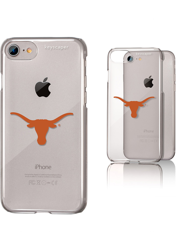 Texas Longhorns iPhone 6/7/8 Clear Slim Phone Cover - Image 1
