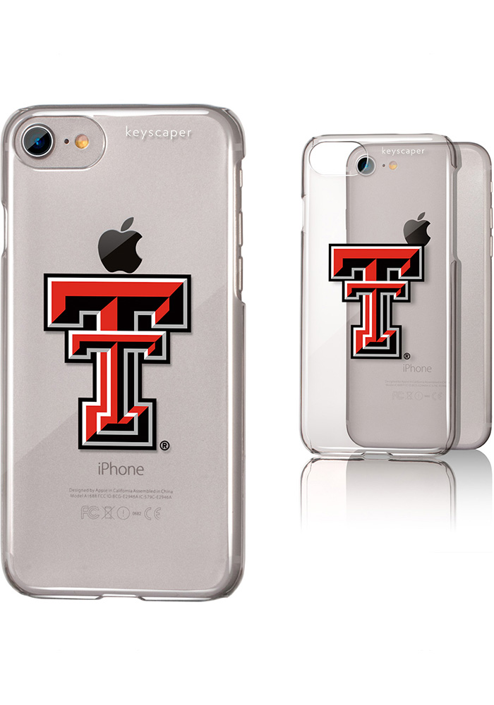 Texas Tech Red Raiders iPhone 6/7/8 Clear Slim Phone Cover - Image 1