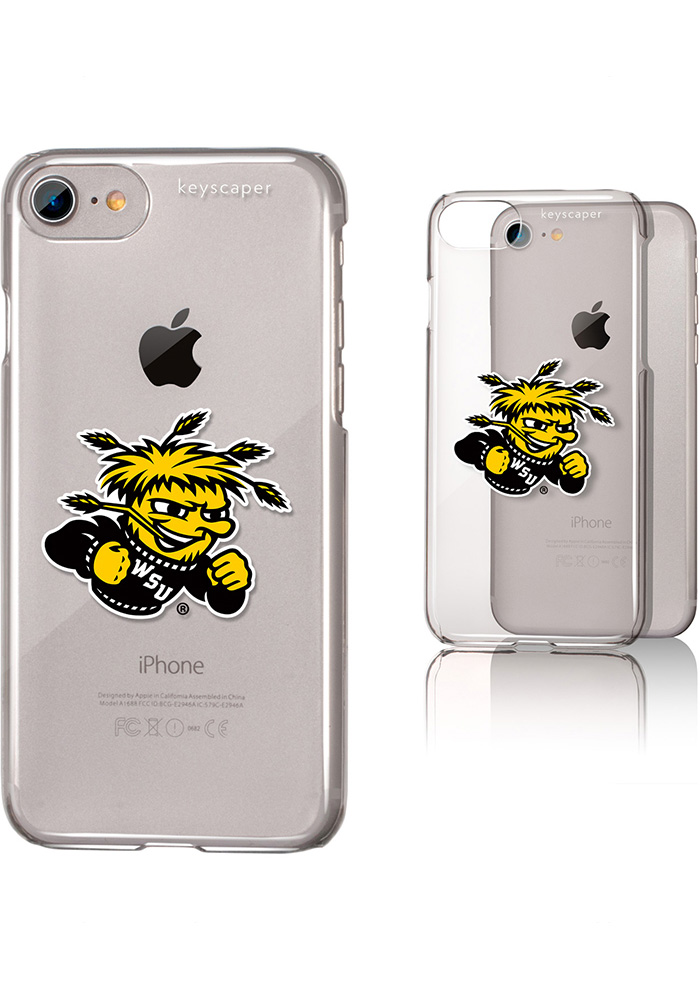 Wichita State Shockers iPhone 6/7/8 Clear Slim Phone Cover - Image 1
