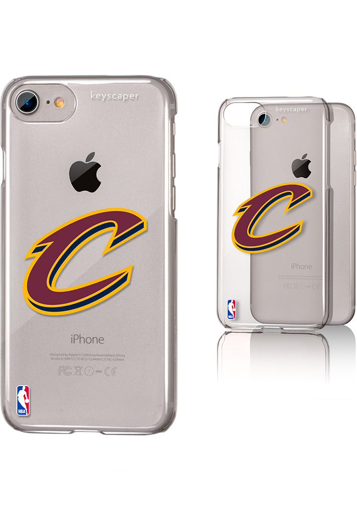 Cleveland Cavaliers iPhone 6/7/8 Clear Slim Phone Cover - Image 1