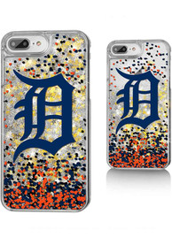 Detroit Tigers iPhone 6+/7+/8+ Glitter Phone Cover