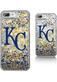 Kansas City Royals iPhone 6+/7+/8+ Glitter Phone Cover
