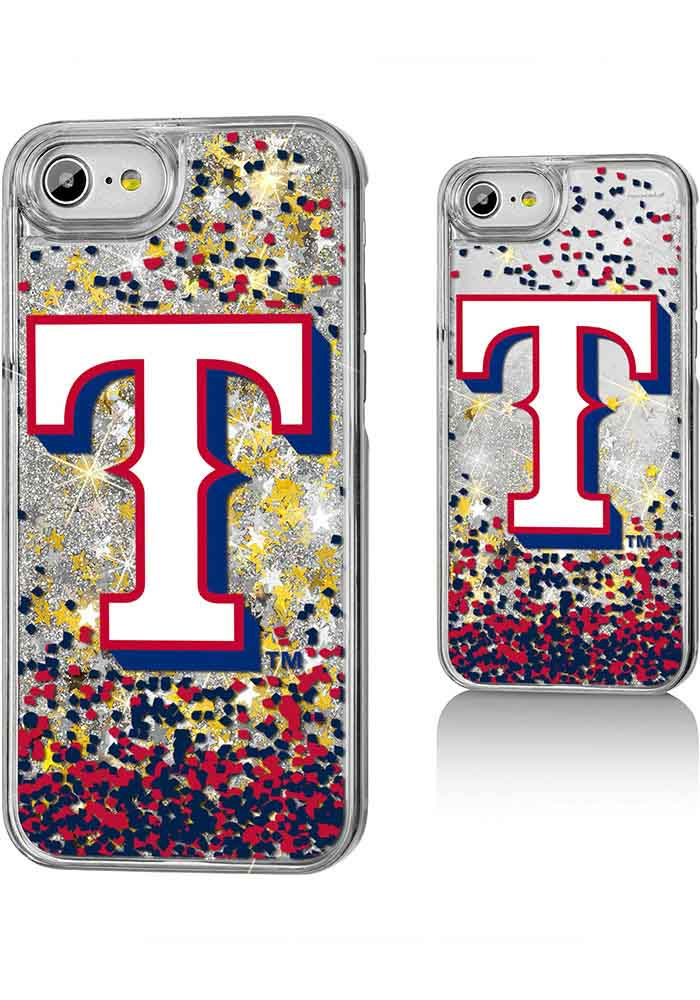 Texas Rangers iPhone 6/7/8 Glitter Phone Cover - Image 1